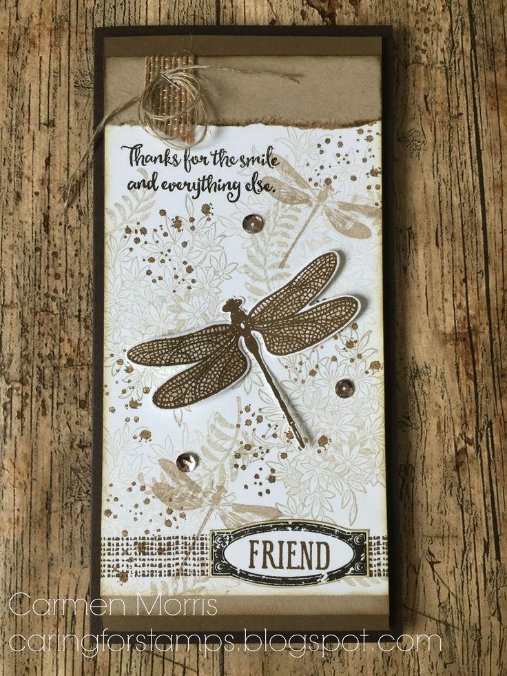 Stampin' Up! blog van Carmen Morris   Dragonfly Dreams, Butterfly Basics