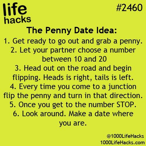 Cool dating ideas