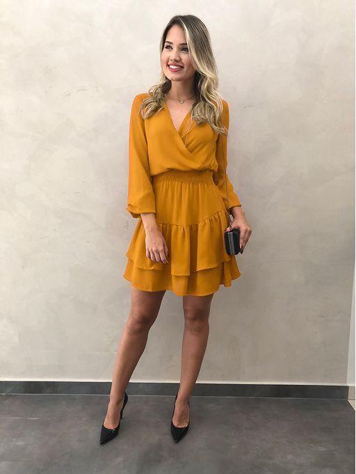 VESTIDOS DE FESTA 2020 → 110 Modelos de Vestidos, Tendências in 2019 | Fashion dresses, Dresses, Fashion outfits