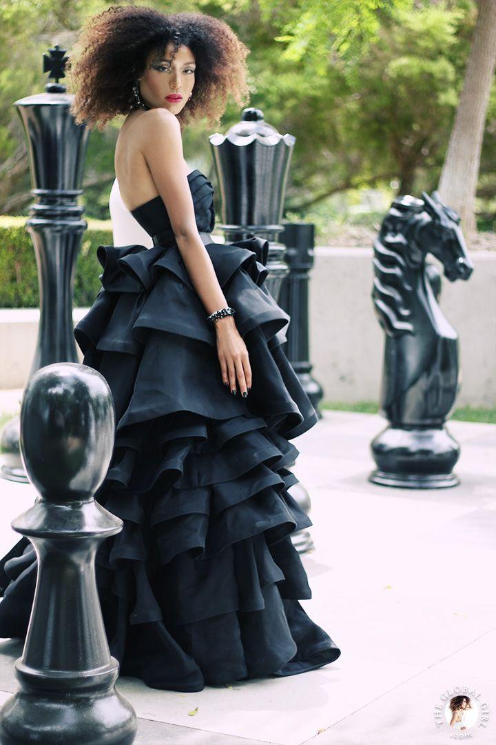 Phillip James, Photography ~ Mimi Plange, organza strapless gown |