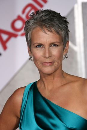 Jamie Lee Curtis - she impresses me...one of the few Hollywood actresses who is 54 and looks 54...embrace your age...not fight it.