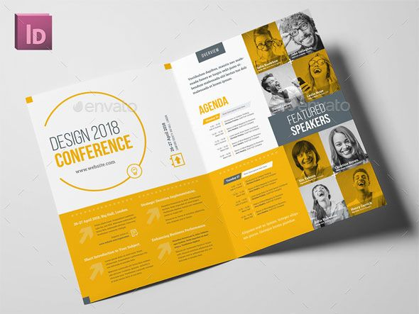40 Best Brochure Design Templates 2018 \u2013 Web  Graphic Design on
