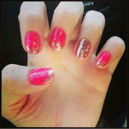 Summer nails! #shellac