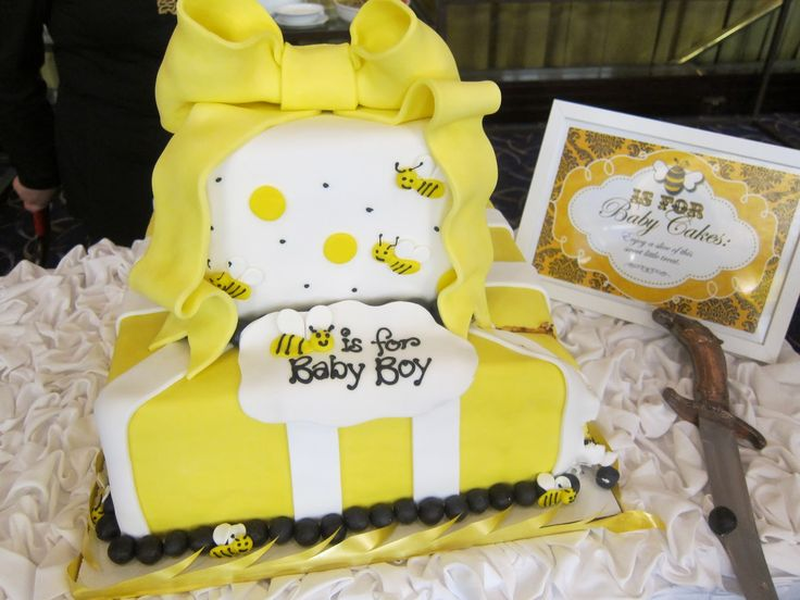 Bumble Bee Shower Cake. Baby Shower ThemesBaby ...