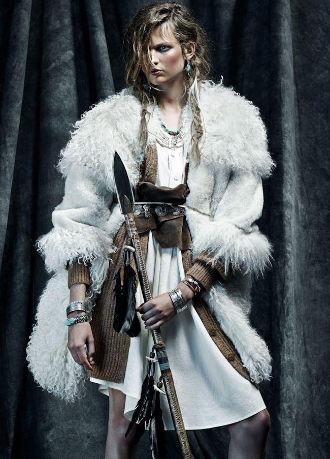 Bette Franke by Sara Fernandez & Toby Knott for Vogue Spain, November 2014.