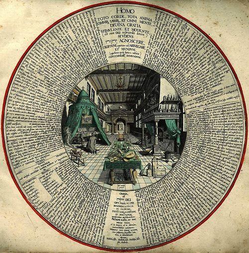 magictransistor:  Heinrich Khunrath, Amphitheatrum Sapientiae...