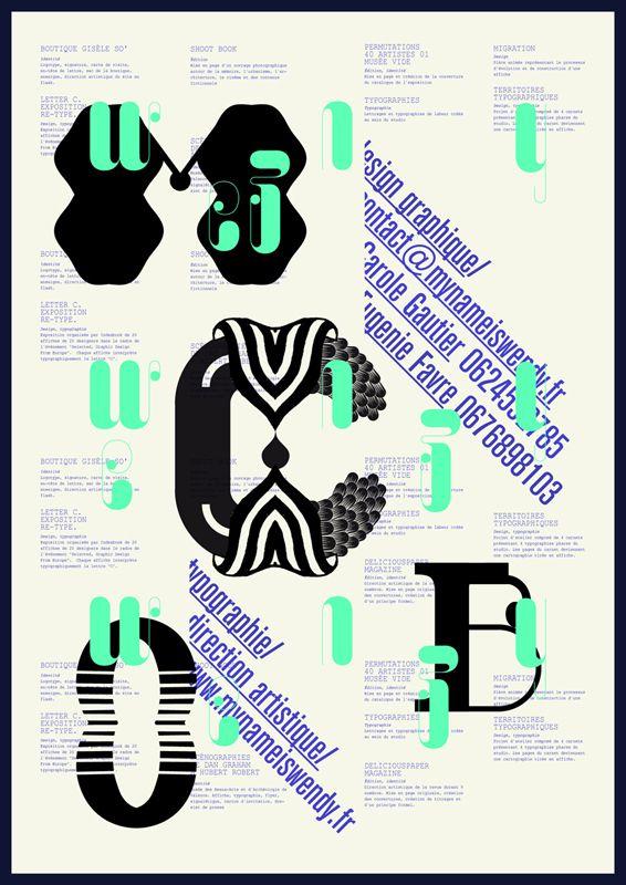 Found by Martineken Blog // typography, graphic, layout