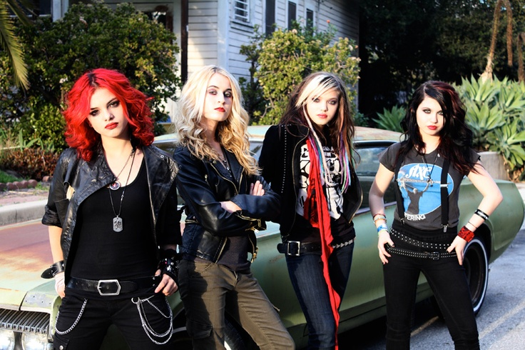 Cherri Bomb - Been waiting for their debut CD (came out 5/15), I'm loving them. Amazing work, even more considering their ages.