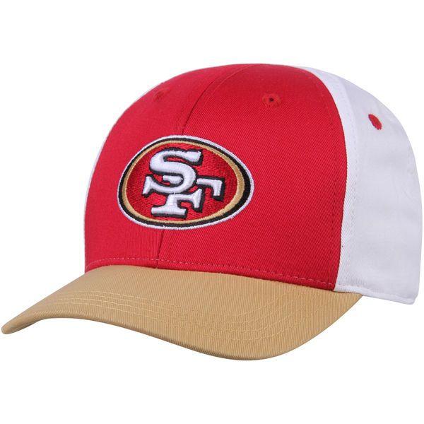 San Francisco 49ers Color Block Structured Hat - Scarlet/Gold - $14.99