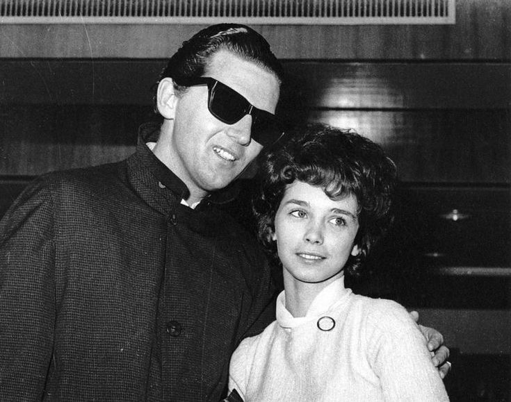 Jerry Lee Lewis with wife Myra Brown, age 13