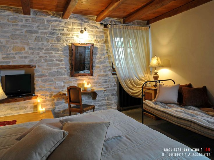 Bedrooms _ mansion | Pelion | architects | bedroom | hotel | traditional | renovation _ visit us at: www.philippitzis.gr