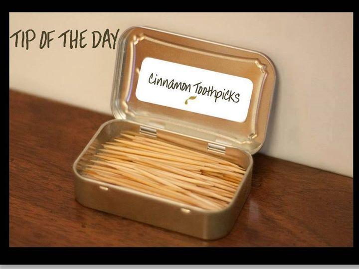 how to make cinnamon toothpicks