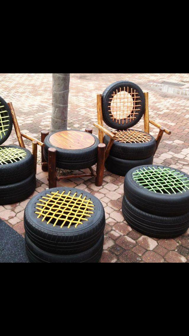 Dommage que ce soit moche, parce qu'avec tous les pneus qu'on a...