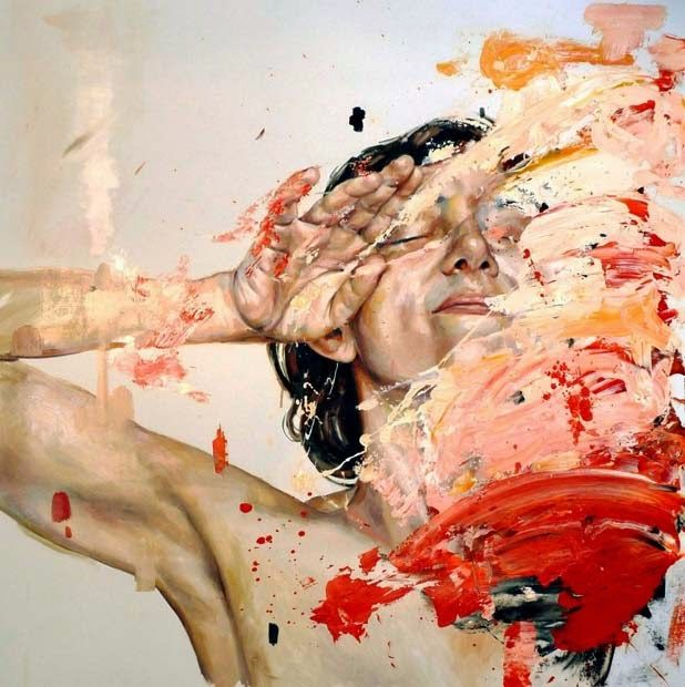 Paintings by Cesar Biojo | http://ineedaguide.blogspot.com/2015/02/cesar-biojo-update-2.html #art #paintings