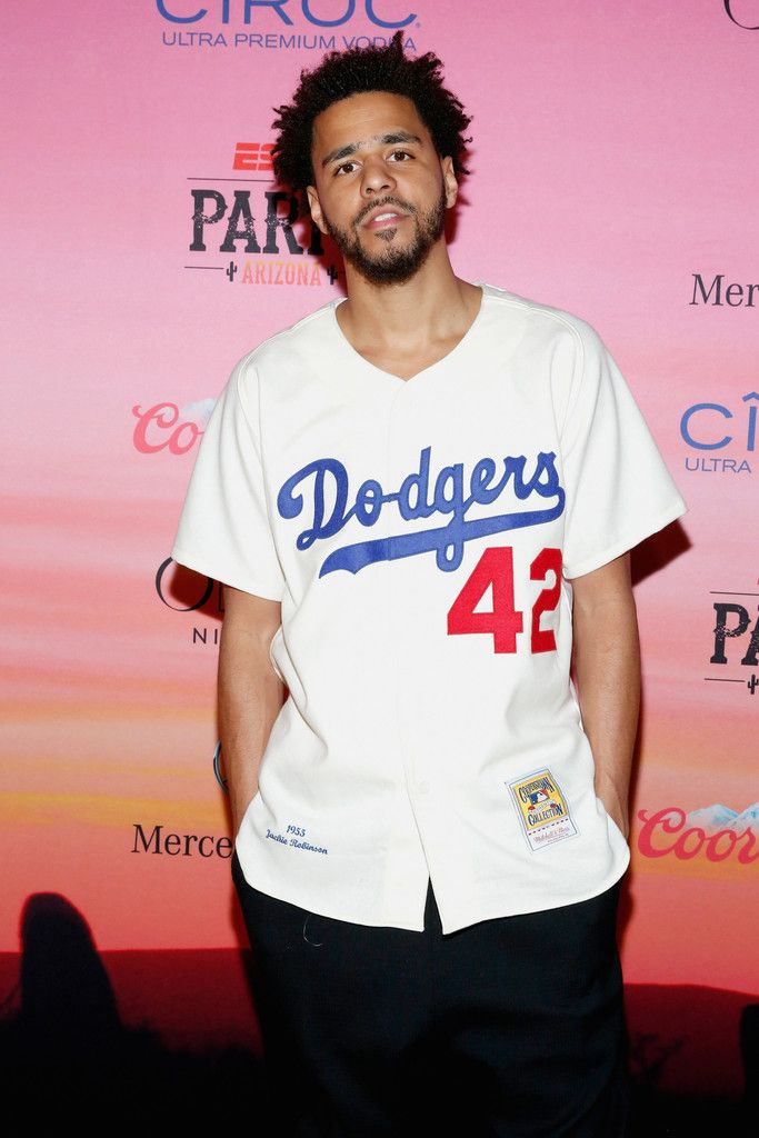 """J. Cole attends ESPN the Party at WestWorld of Scottsdale on January 30, 2015 """