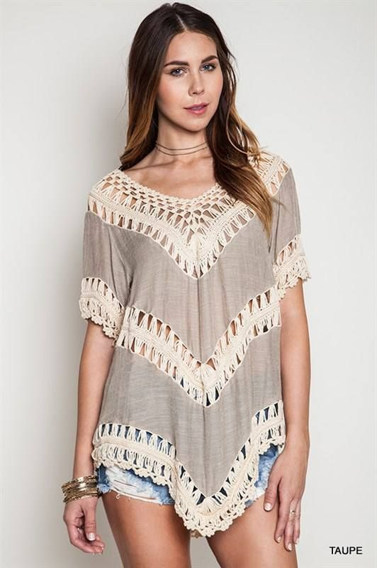 Taupe Sz. S-L {$44}
