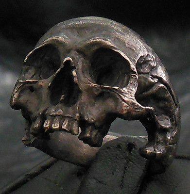 Sterling Silver Mens Ring Skull Ring Biker Masonic Rock Handmade Jewelry 925   eBay