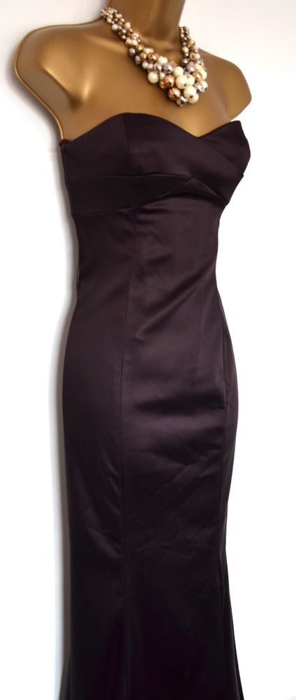 d2be3b0817f Coast Long Dress Size 8 Cruisewear Evening ball Aubergine Fishtail  fashion   clothing  shoes  accessories  womensclothing  dresses (ebay link)
