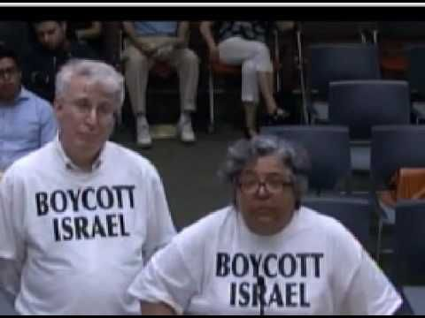 City Council's agony over Boycott-Israel resolution (June 20, 2016)