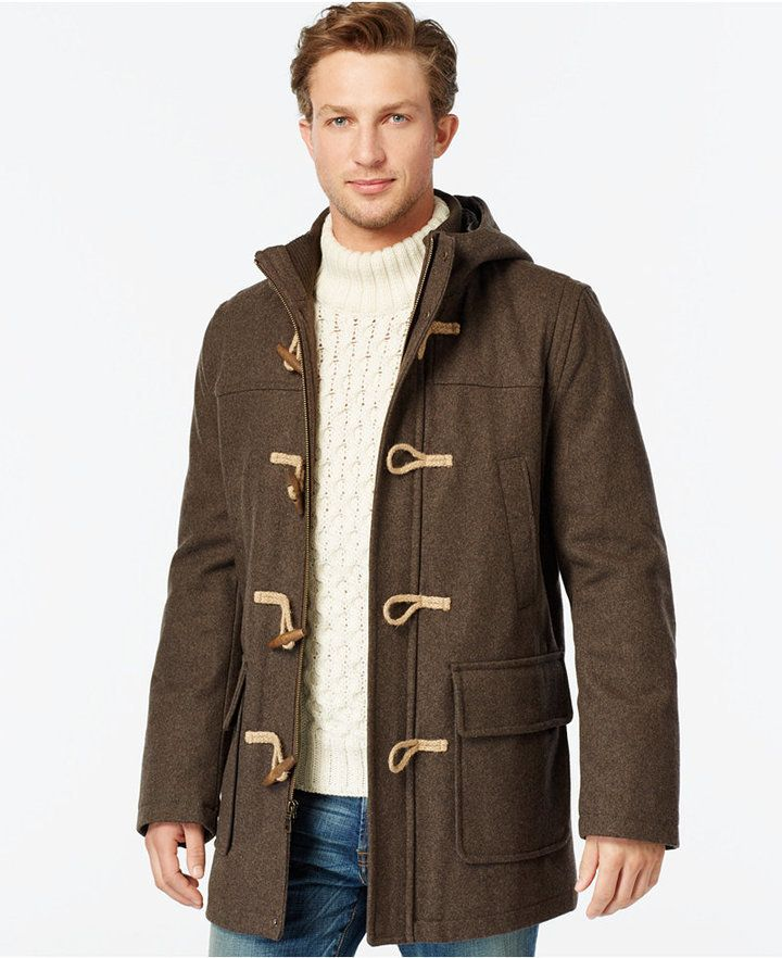1066 best Men's Duffle & Toggle Coats images on Pinterest