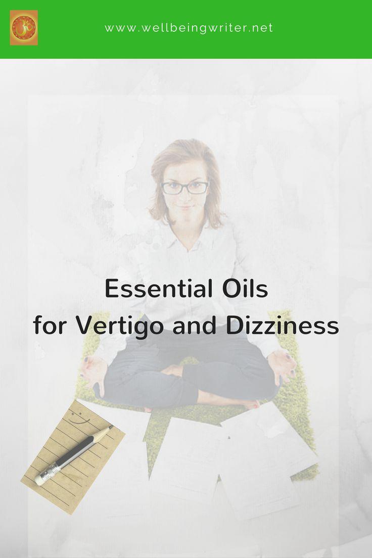 essential oils for vertigo, essential oils for dizziness, essential oils for nausea