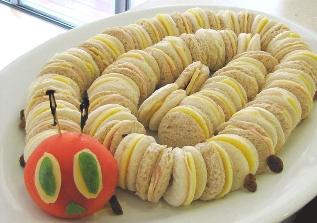 The World's Top 10 Best Caterpillar Themed Party Foods  #Caterpillars   #insects   #partyfood