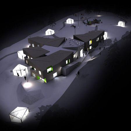 Knarvik Kinder garden by Juice Arkitektur