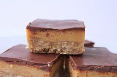 Himmelsk karamel- og chokoladekage (Recipe in Danish)
