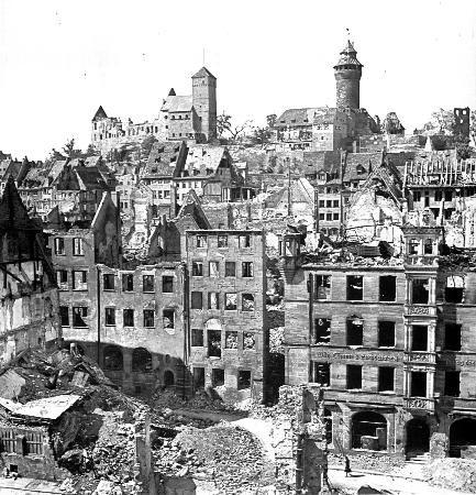 n remberg alemania imperial castle 1945 nuremberg n rnberg deutschland germany nuremberg. Black Bedroom Furniture Sets. Home Design Ideas