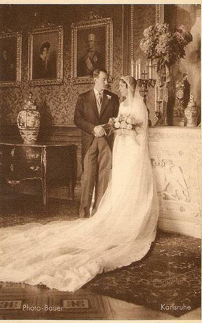 1931 Wedding of Prince Georg Donatus of Hesse-Darmstadt with Princess Cecilia of Greece | Flickr - Photo Sharing!
