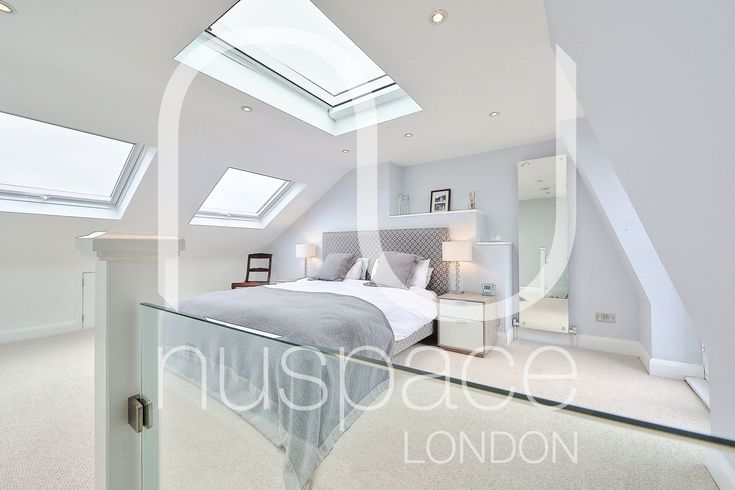 l-shaped mansard loft conversion in wimbledon. #nuspacelondon #loftconversionlondon