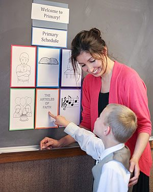 """Posting a Primary Schedule  """"Is It My Turn Yet?"""" Posting a Primary schedule can help children know when it is their turn to participate. It ..."""