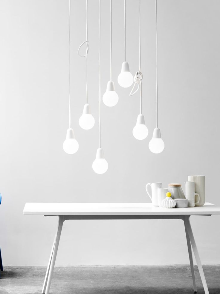 99 besten Weiße Leuchten White Lamps Bilder auf Pinterest - industrieller schick design dachwohnung