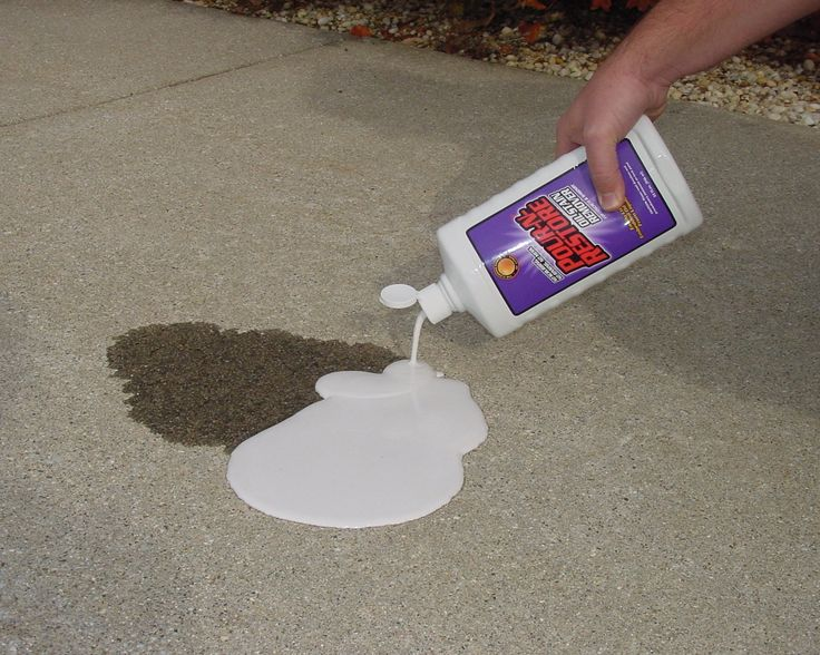 M s de 1000 ideas sobre quitar etiquetas quitar manchas de for Best way to remove oil from concrete driveway
