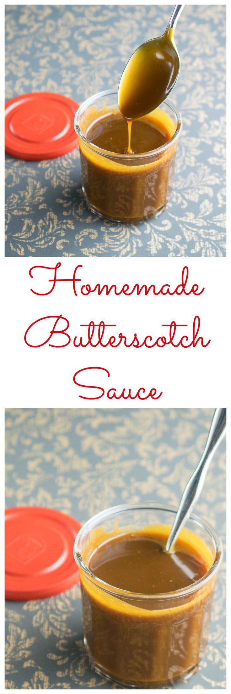 homemade butterscotch sauce