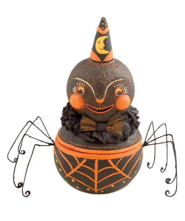 Snyder the Spider Candy Container from TheHolidayBarn.com