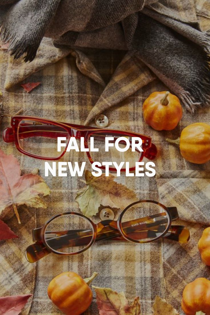 Trendy, stylish reading glasses are always in season.