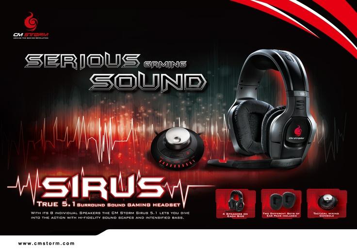 CM Storm Sirus