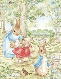 Resultado de imagem para beatrix potter peter rabbit