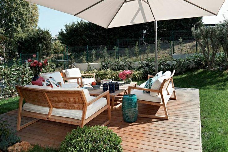 #decking #parke #garden #home  DIŞ MEKANLAR : LANTANA PARKE