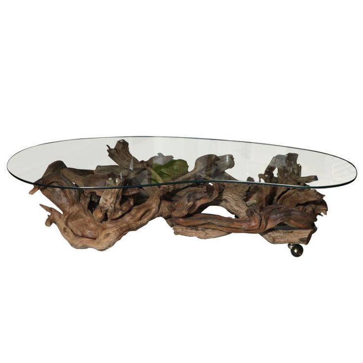 best 25+ driftwood coffee table ideas on pinterest | driftwood