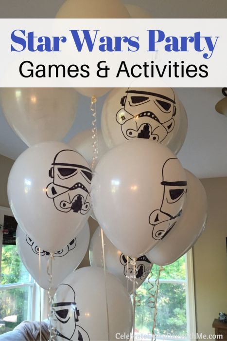 LOVE these Star Wars party games and activities...especially the 2nd one!