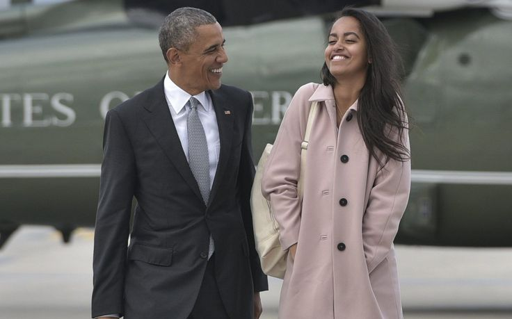 Malia Obama's boyfriend has been revealed to be a former British public schoolboy who met the former first daughter at Harvard University.  Rory Farquharson, a former head boy at the prestigious Rugby School, was linked to Barack Obama's eldest daughter after footage emerged appearing to show
