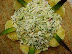 Receita Prato Principal : Salada de repolho e abacaxi de Chery Blossom
