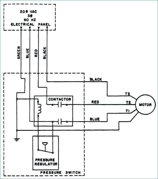 Wiring Diagram For 220 Volt Air Compressor - bookingritzcarlton.info |  Thermostat wiring, Air compressor, CompressorPinterest