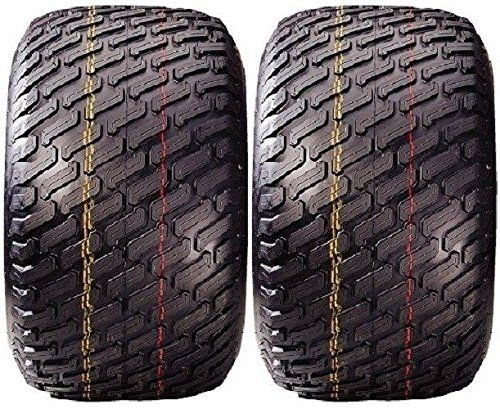 (2) TWO 24x12-12 DURO 4 PLY TWO NEW COMMERCIAL MOWER TURF TIRES 24x12.00-12 TIRE