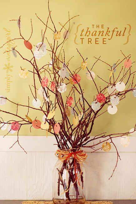 Make a tree of thanks.