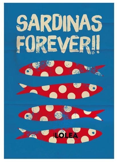 Lolea Perfect Summer '14 / Sardinas forever!! #design #poster