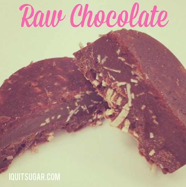 I Quit Sugar: Raw Chocolate  IQuitSugar.com/recipe/