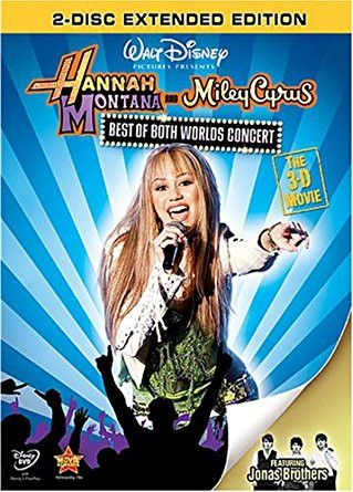 Miley Cyrus: Hannah Montana: Best Of Both Worlds 3D Concert Movie 2xDVD
